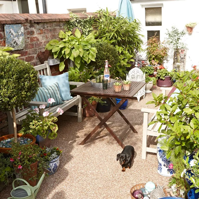 Small garden ideas - small garden designs - Ideal Home on Tiny Back Garden Ideas id=67028