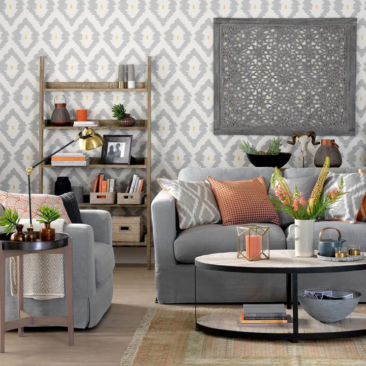Gray Walls Home Decorating Ideas: Decorating With Grey Walls In Living Room