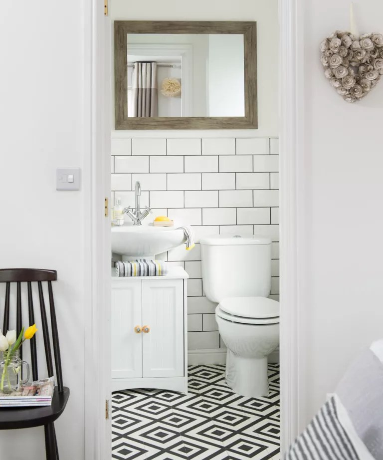Cloakroom ideas that make the most of your small space and ... on Small Space Bathroom Ideas  id=37025
