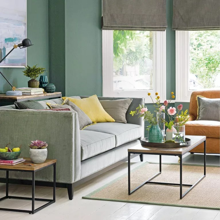 Green living room ideas for soothing, sophisticated spaces on Living Room Design Ideas  id=59686
