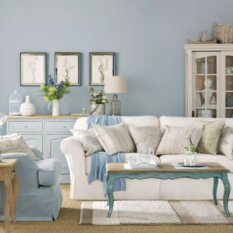 title   Blue Shabby Chic Bedroom