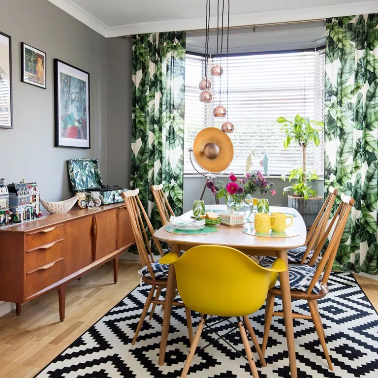 How to renovate on a budget - 18 ideas that will transform ... on Dining Room Curtain Ideas  id=49459