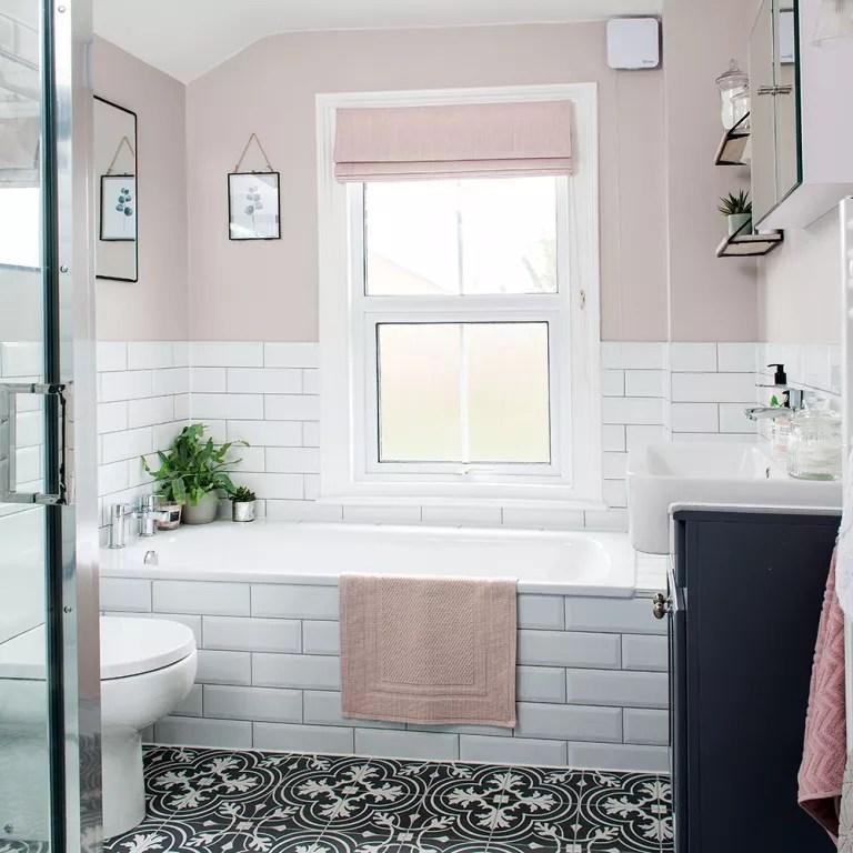Budget bathroom ideas - easy ways to make your washroom ... on Bathroom Ideas On A Budget  id=56487