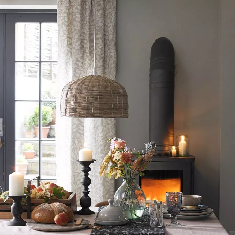 Dining room curtain ideas - on-trend and elegant looks for ... on Dining Room Curtain Ideas  id=85436