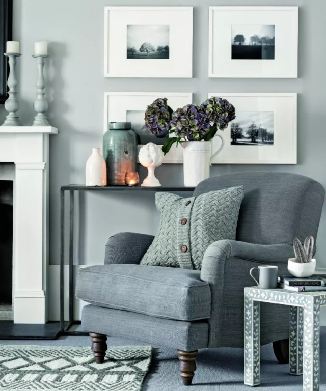 40 grey living room ideas - decor in shades from charcoal ...