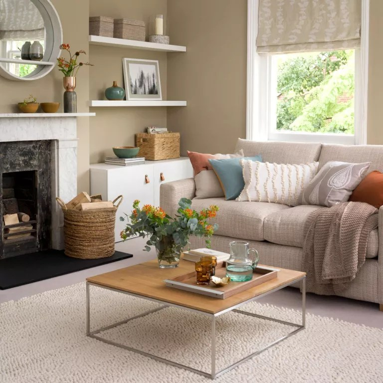 Neutral living room ideas - Neutral living rooms - Neutral ... on Living Room Design Ideas  id=47470
