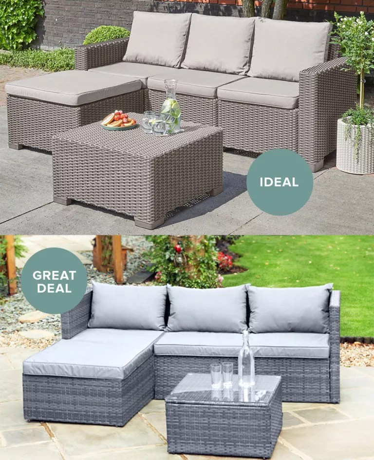 update garden furniture for less with