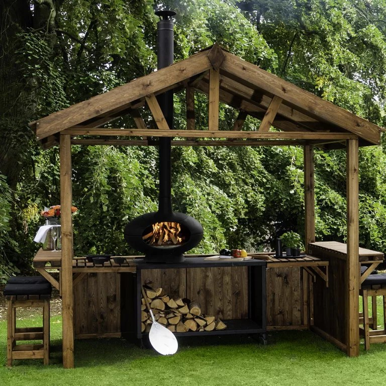 Outdoor Kitchens Ideas And Designs For Your Alfresco Cooking Space