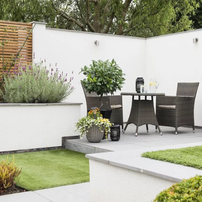 Easy garden ideas - simple updates to transform your ... on Patio And Grass Garden Ideas id=53552