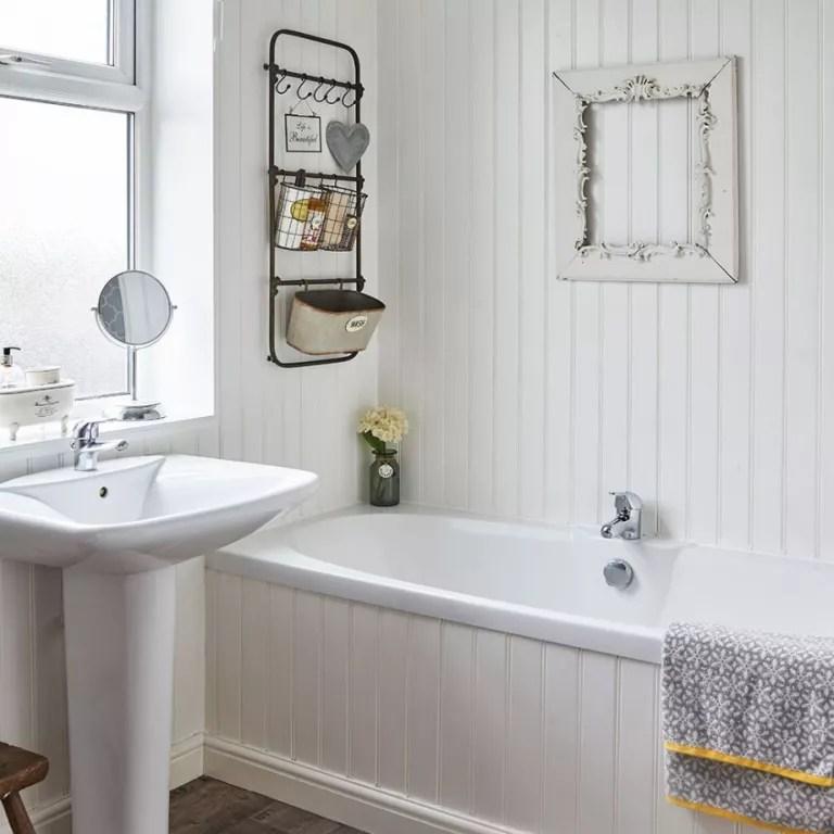 Small bathroom ideas - small bathroom decorating ideas on ... on Bathroom Ideas On A Budget  id=89486