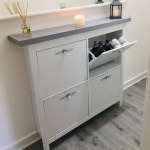 One Mrs Hinch Fan Gets The Look With Clever Hallway Storage Unit Hack