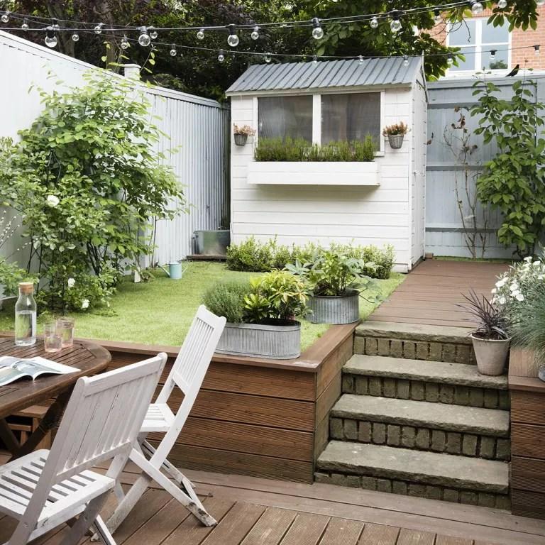 Small garden ideas - small garden designs - Ideal Home on Small Backyard Landscaping id=92173