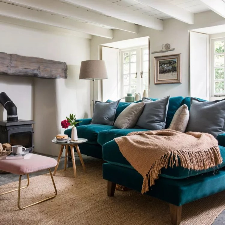 Teal Living Room Ideas Warm Up Your Lounge With This Vibrant Hue
