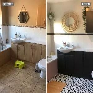 frenchic bathroom makeover