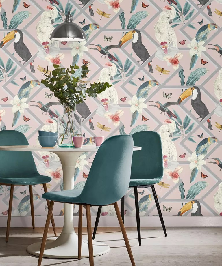 How To Wallpaper A Feature Wall Which Wall To Paper Expert Advice How