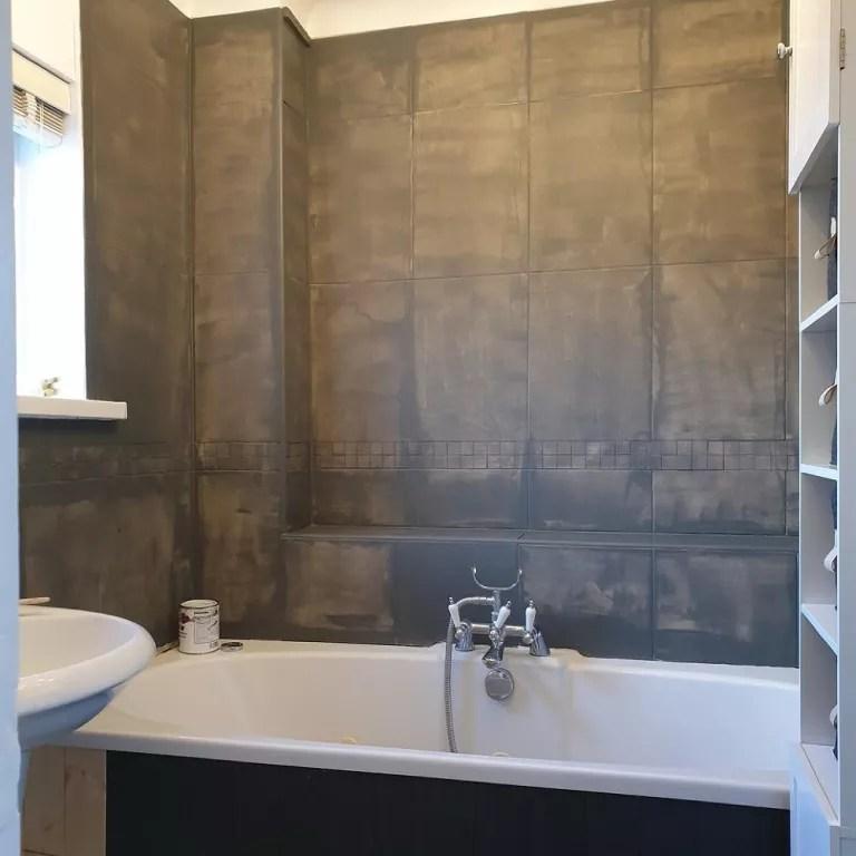 frenchic paint bathroom tiles makeover