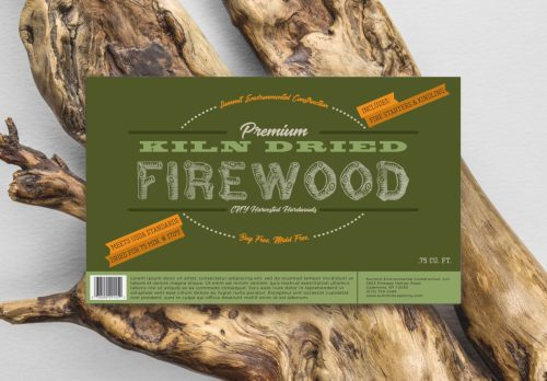 Summit Environmental Construction | Firewood Bundle Label | KSAVAGER Design & Photography