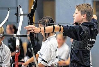 Kinder- und Jugendspiele Bogenschießen