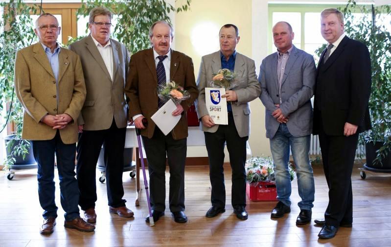 Ehrennadeln des LSB und KSB-Medaille vergeben
