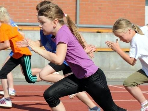 Kinder- und Jugendspiele – Leichtathletik –