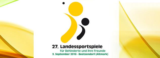 27. Landessportspiele der Behinderten und ihrer Freunde