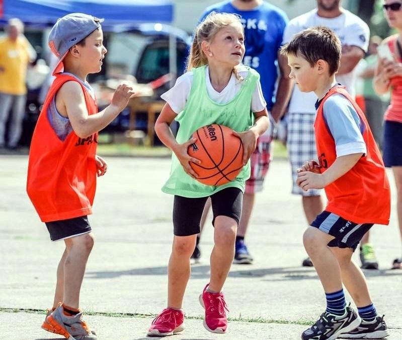 Basketball Jugend trainiert für Olympia