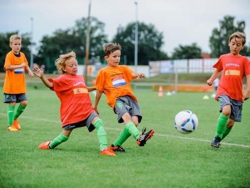 Kinder- und Jugendspiele Fußball