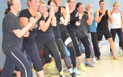 Maori-Schreie beim Fitnesstanz