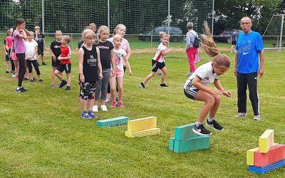 90 Letzlinger Grundschüler beim Sportabzeichen-Tag des KSB