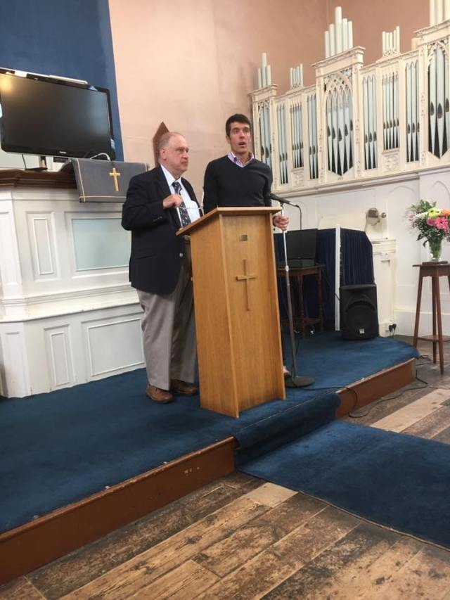The final service at the chapel in Middleyard
