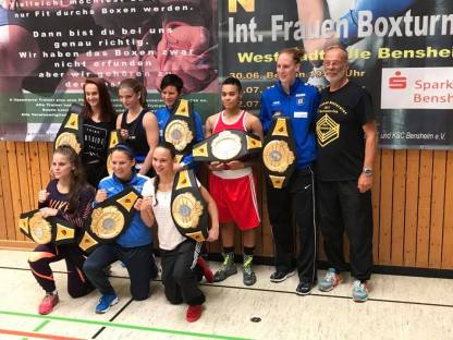 Internationales Frauenboxturnier 2018