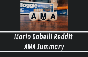 Mario Gabelli Reddit AMA Summary