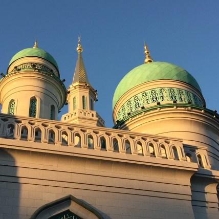 Moskau Moschee außen 2