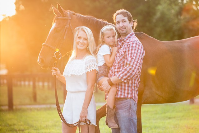 Tennesse Equine Photography, Equine Family Session