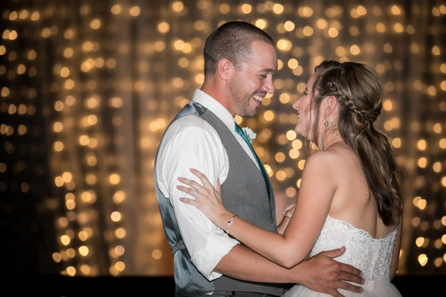 first dance twinkle light background