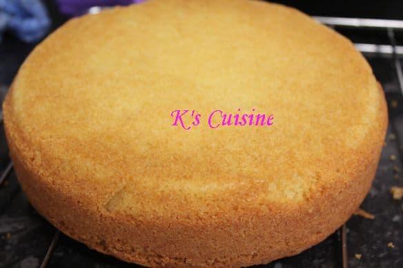 Semolina cake. Easy and delicious recipe
