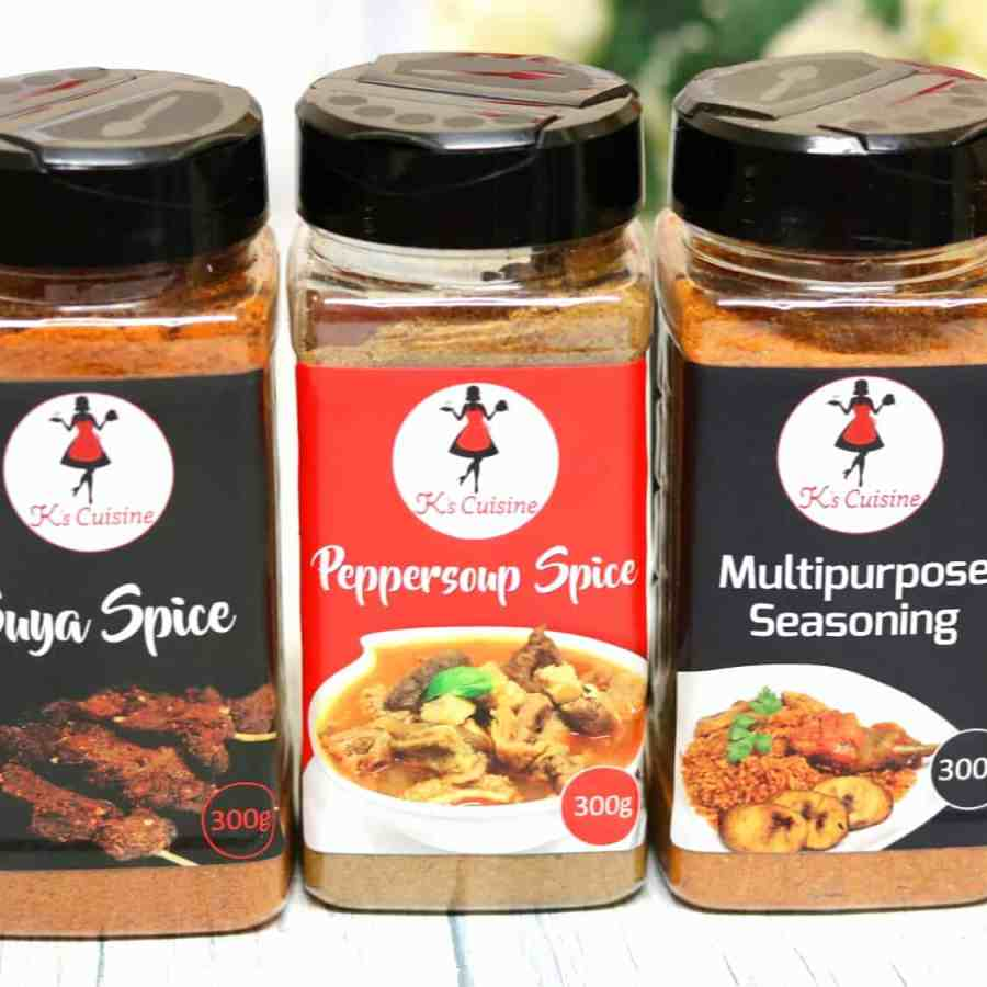 K's Cuisine Spice and Seasoning Range