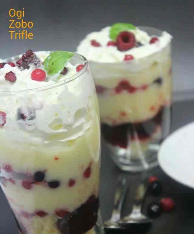 Ogi Zobo trifle