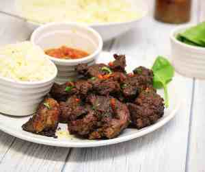 Zahmilah grilled beef