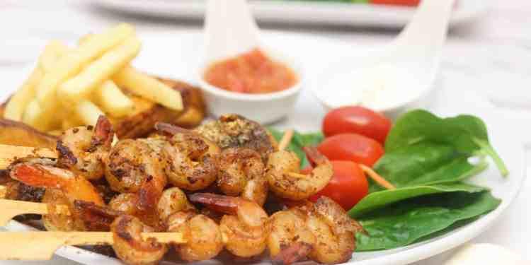 Zahmilah Shrimp Kebab