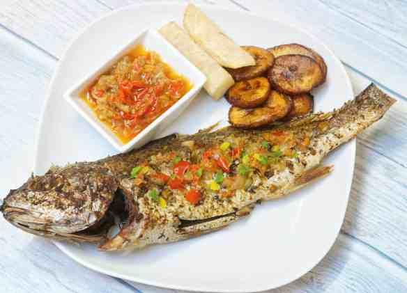 Zahmilah grilled fish