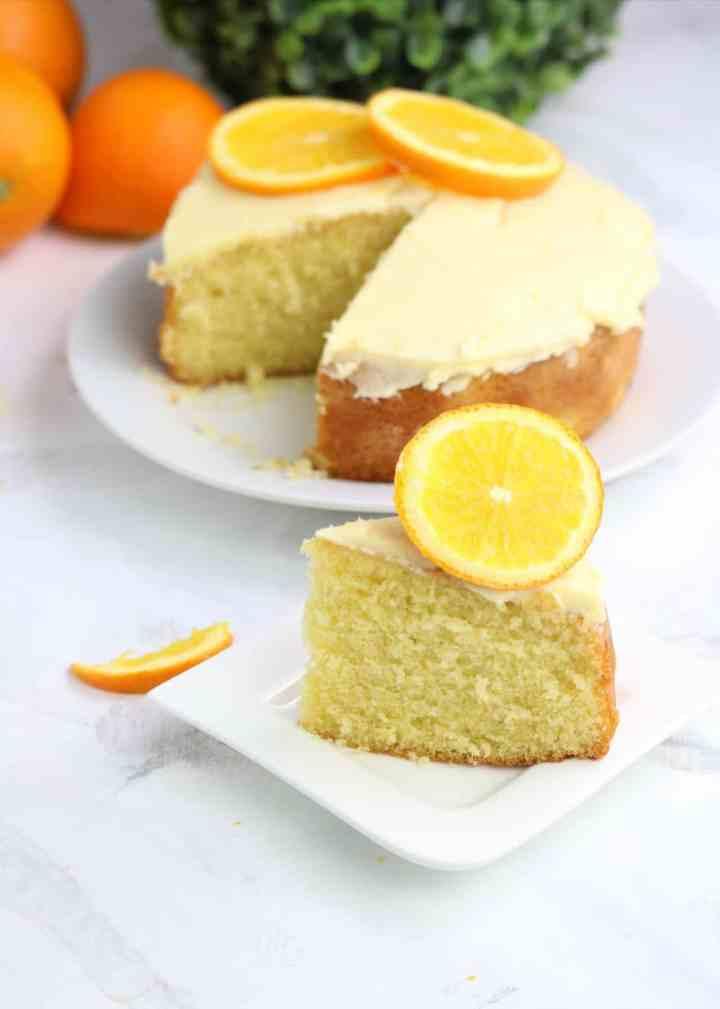 Orange Cake (Nigerian Cake)