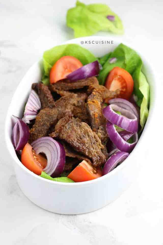 Suya (Nigerian Beef Suya)