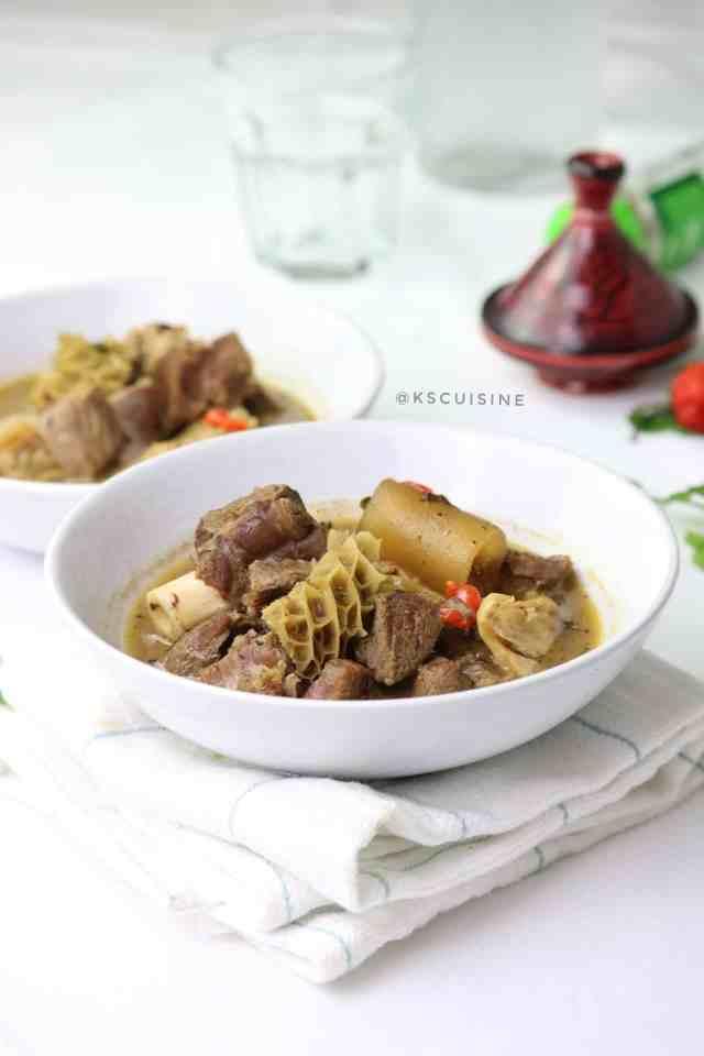 Assorted Meat Pepper Soup (Nigerian pepper soup) - K's Cuisine