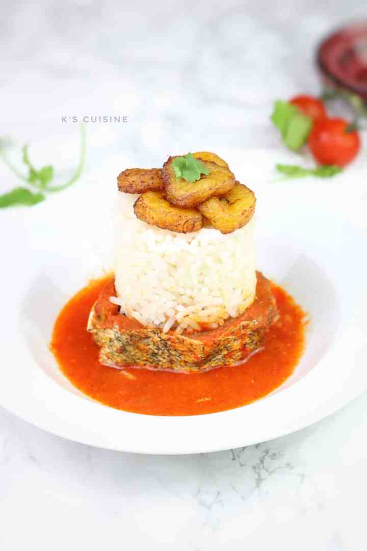 Nigerian Fish soup Recipe. Spicy aromatic stew made in tomato stew