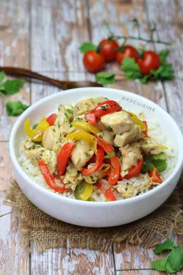 Nigerian Chicken Stir Fry