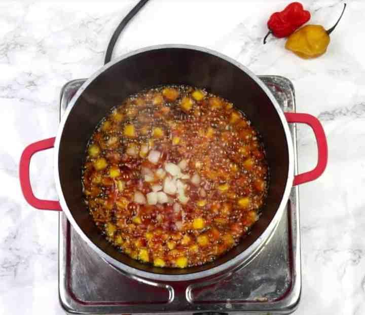 Ogiri stew