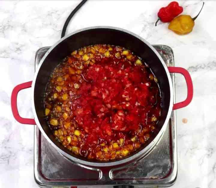 Locust beans stew