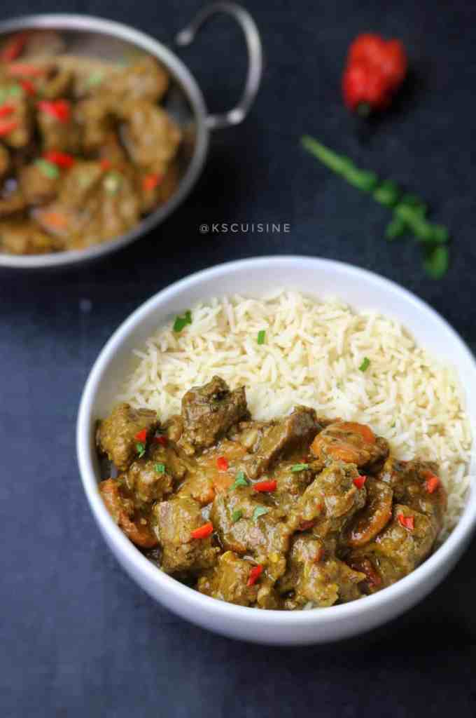 Easy beef curry recipe. simple and delicious