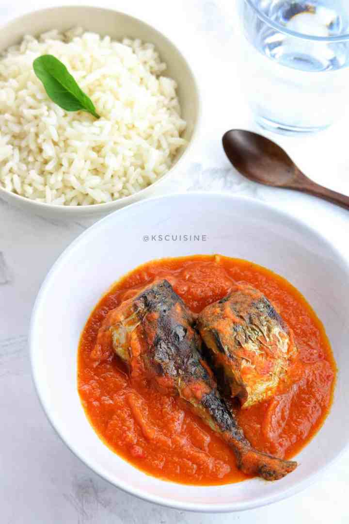 How to cook Mackerel Stew .